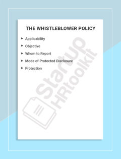 The Whistleblower Policy